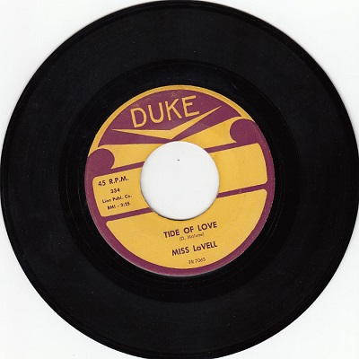 Duke-Tide of Love by Miss Lavell