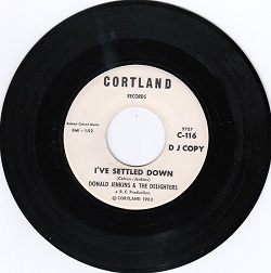 Donald Jenkins and The Delighters-I've Settled Down