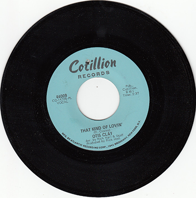 That Kind of Lovin' Cotillion 40009 Record