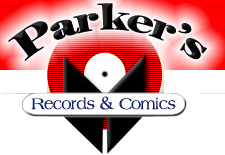 Parkers Records and Comics Logo